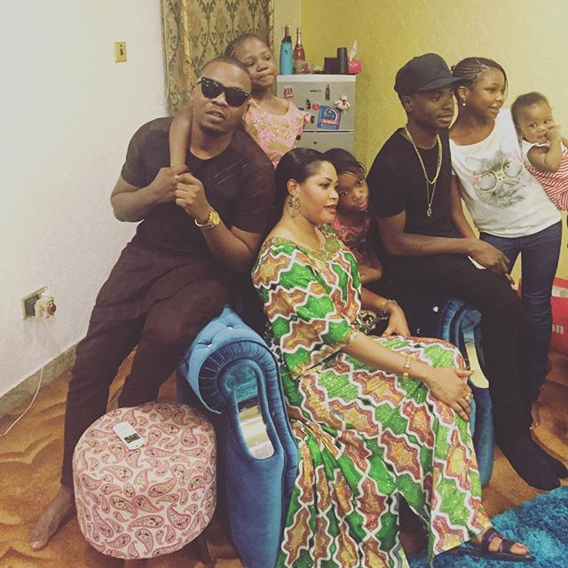 CUTE FAMILY: Baddo Olamide Shows Off Photo Of His Family On