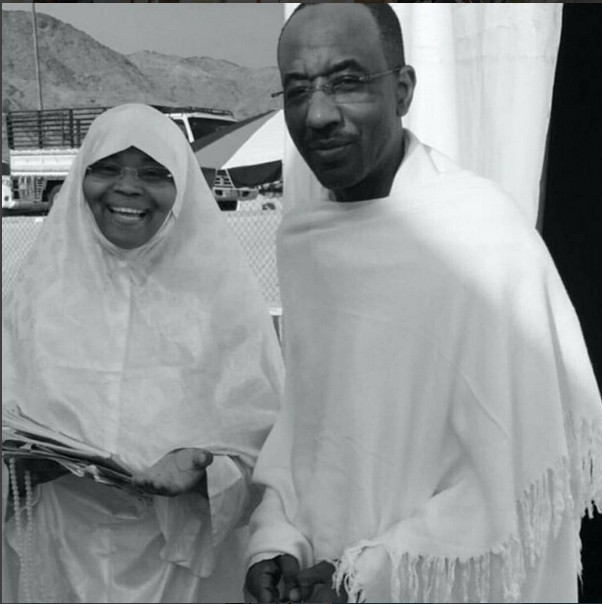 Emir of Kano sanusi in Mecca.