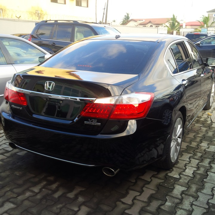 Honda Accord 2015 Pictures: 2015 Honda Accord Tokunbo For Sale FULL OPTION