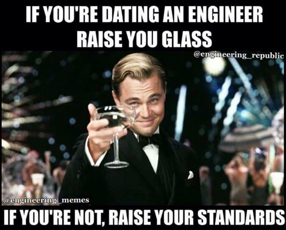 Why not to date an engineer