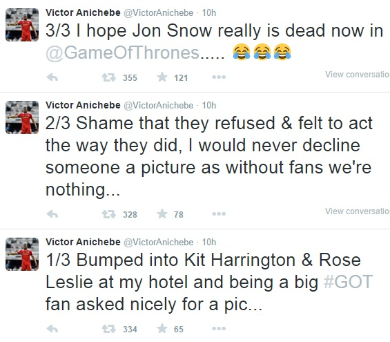 Anichebe Slams Kit Harington, 'Game Of Thrones' Actor For Snubbing Him 2912843_twuut68_jpeg49d60471980aade8e829051734f194ee