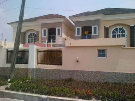 Buy calmlux paint from 360 degree emn limited and we paint for House painting in nigeria