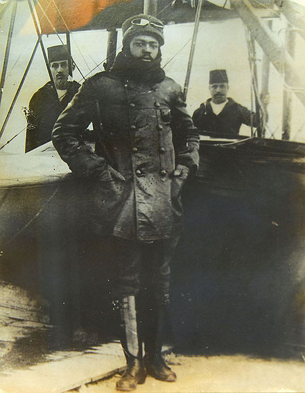 Ahmet Ali-Çelikten, The First Black Pilot In History Was From Nigeria