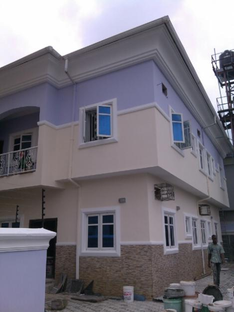 Pd refurb interior work renovation properties 1 nigeria for House painting in nigeria