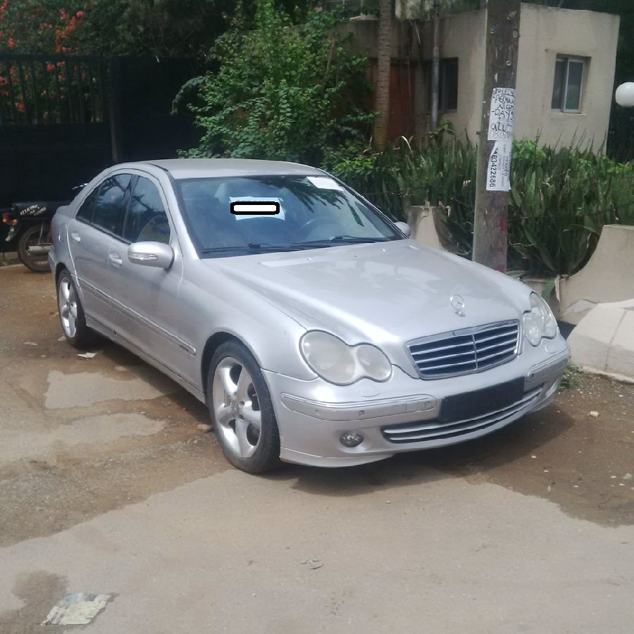 tokunbo mercedes benz c200 kompressor 2003 n1 550 autos nigeria. Black Bedroom Furniture Sets. Home Design Ideas