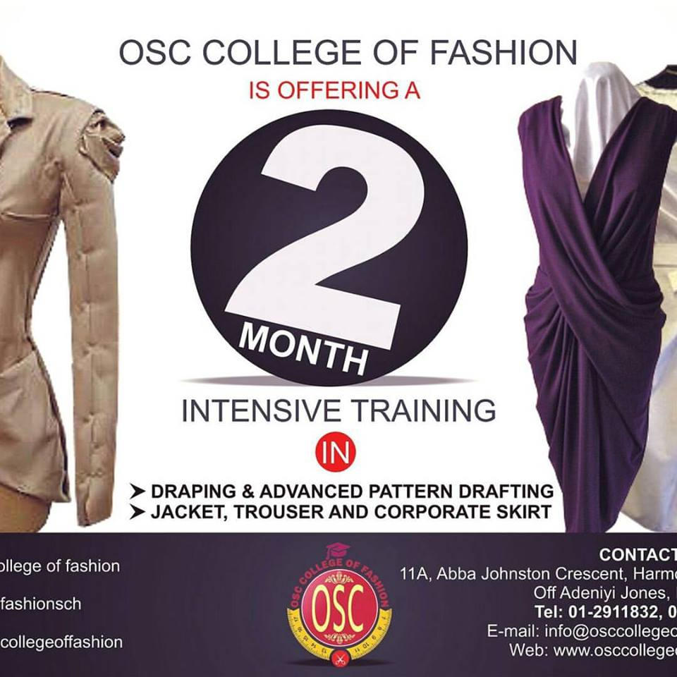 Fashion School In Lagos And Their Fees School Style