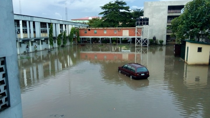 YABATECH Doesn't Look Funny When it Rains O! [Photos]