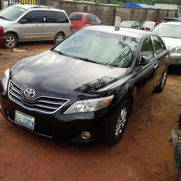 2010 toyota camry registered for sale autos nigeria. Black Bedroom Furniture Sets. Home Design Ideas