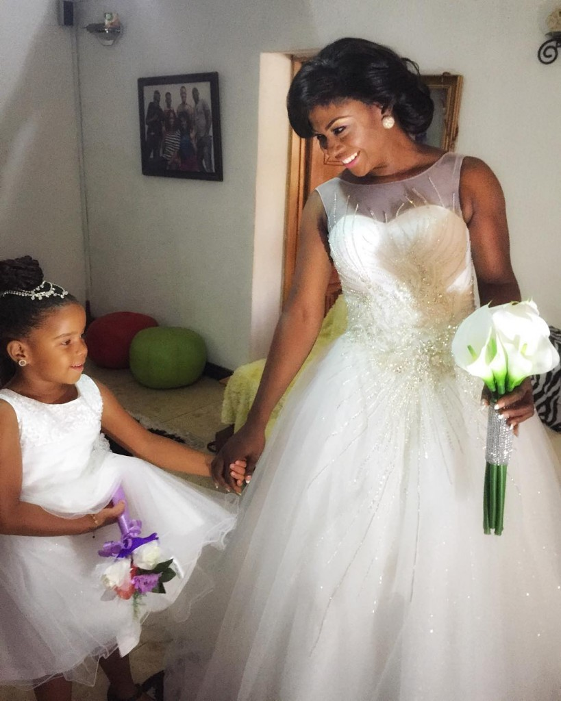 First pics from nollywood actress' Susan Peters wedding today!