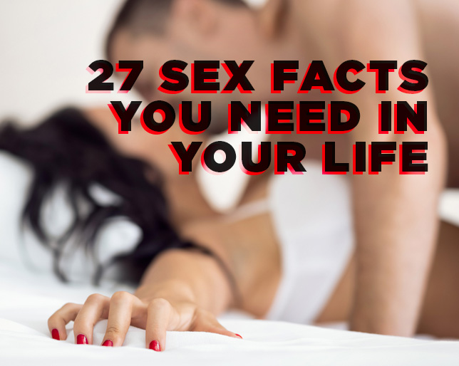 Delicious homoseksuell sex facts