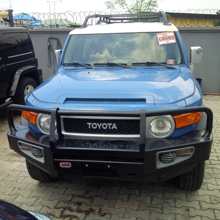 2008 Toyota Land Cruiser Transmission: Extremely Clean Toyota Fj Cruiser 2012 Model For 7.2m