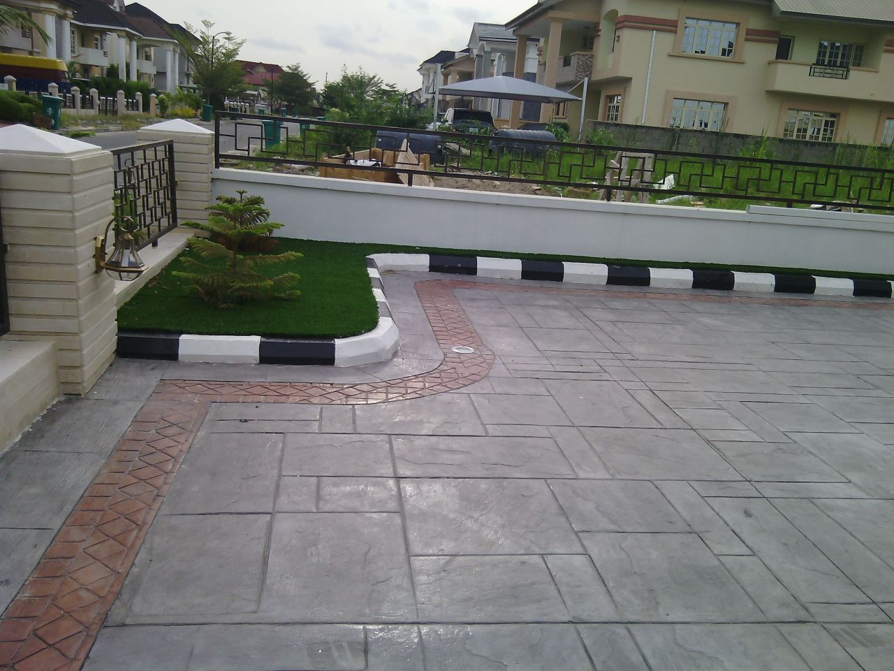 Stamped Concrete Flooring In Ghana : American decorative stamped concrete any where in nigeria