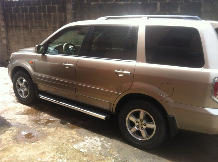 nigeria used 2006 honda pilot for sale asking price n1. Black Bedroom Furniture Sets. Home Design Ideas