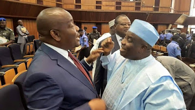 Wike And Tambuwal Having A Good Time Together