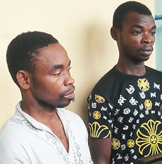 Police Arrests Suspected Armed Robbers In Akwa Ibom (Pictured)