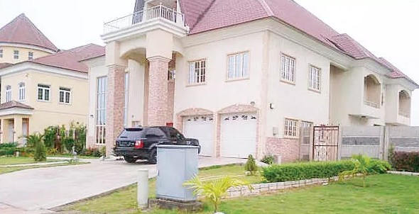 7 nigerian celebrities and their beautiful houses photos for Nigeria houses pictures