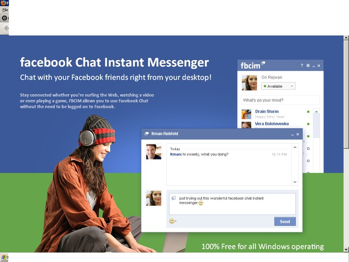 love chat facebook chat
