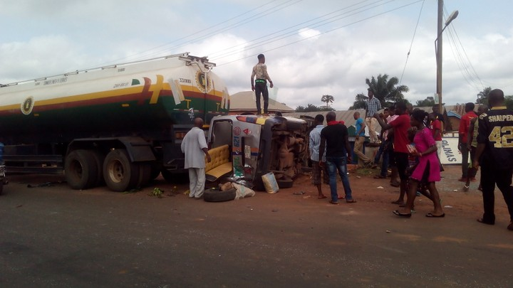 Road Accident At Otukpa, Benue State ( Photos)