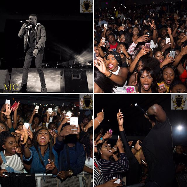 Photos From Olamide's London Concert Held Yesterday Featuring Phyno & Other