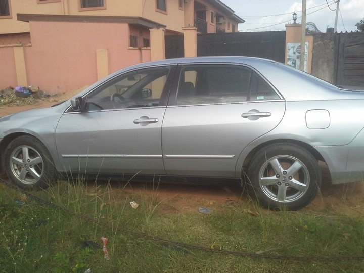 give away honda accord 2006 price 800k autos nigeria. Black Bedroom Furniture Sets. Home Design Ideas
