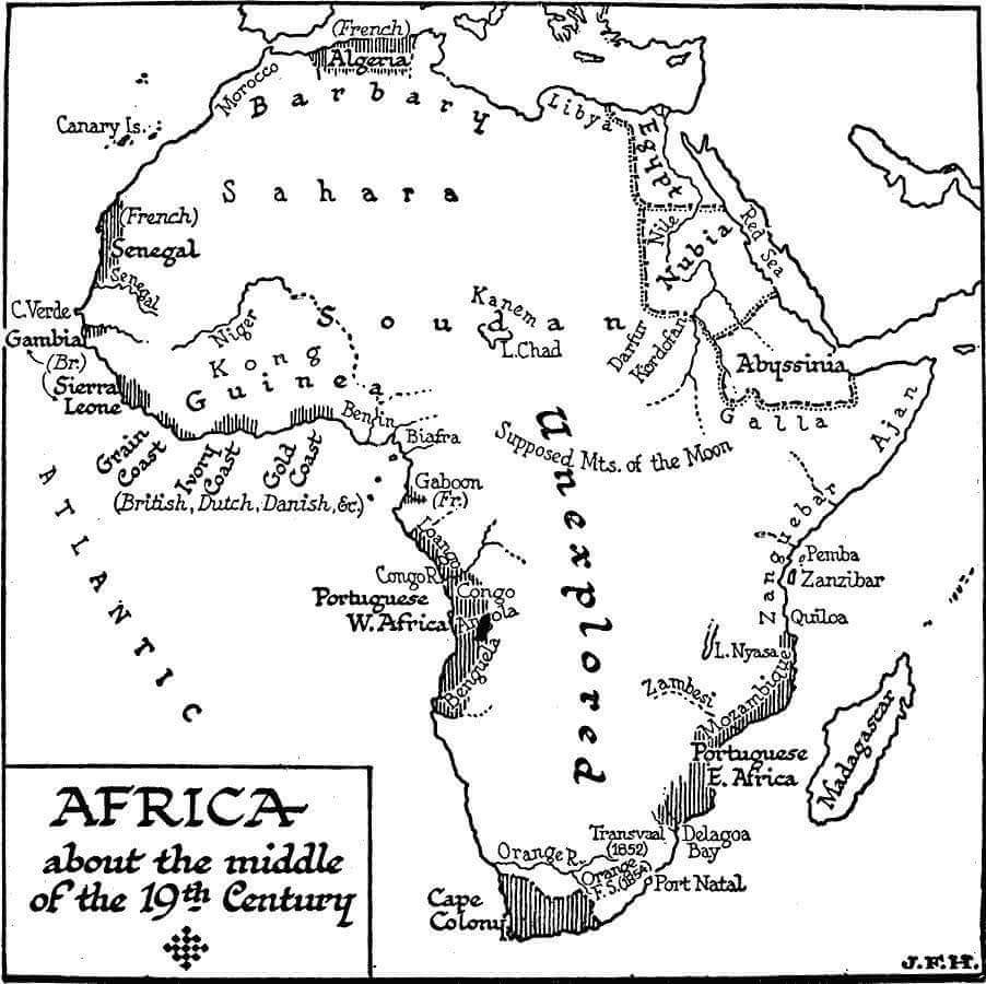 africa flag coloring pages south kids - Coloring Pages France Outline Map