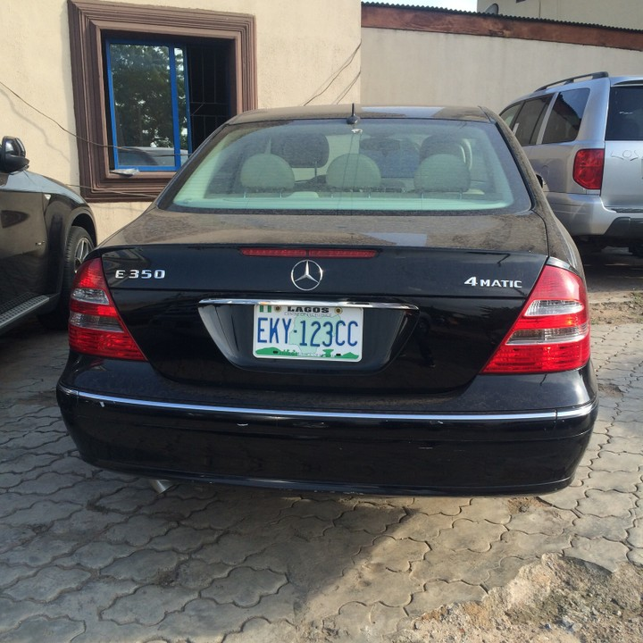 V6 Engine, Auto, Alloy, Wooden Trim Formica, Lagos Cleared, First Body,  Sound Engineu0026 In Good Condition, Slightly Negotiable, Price: 2,200,000