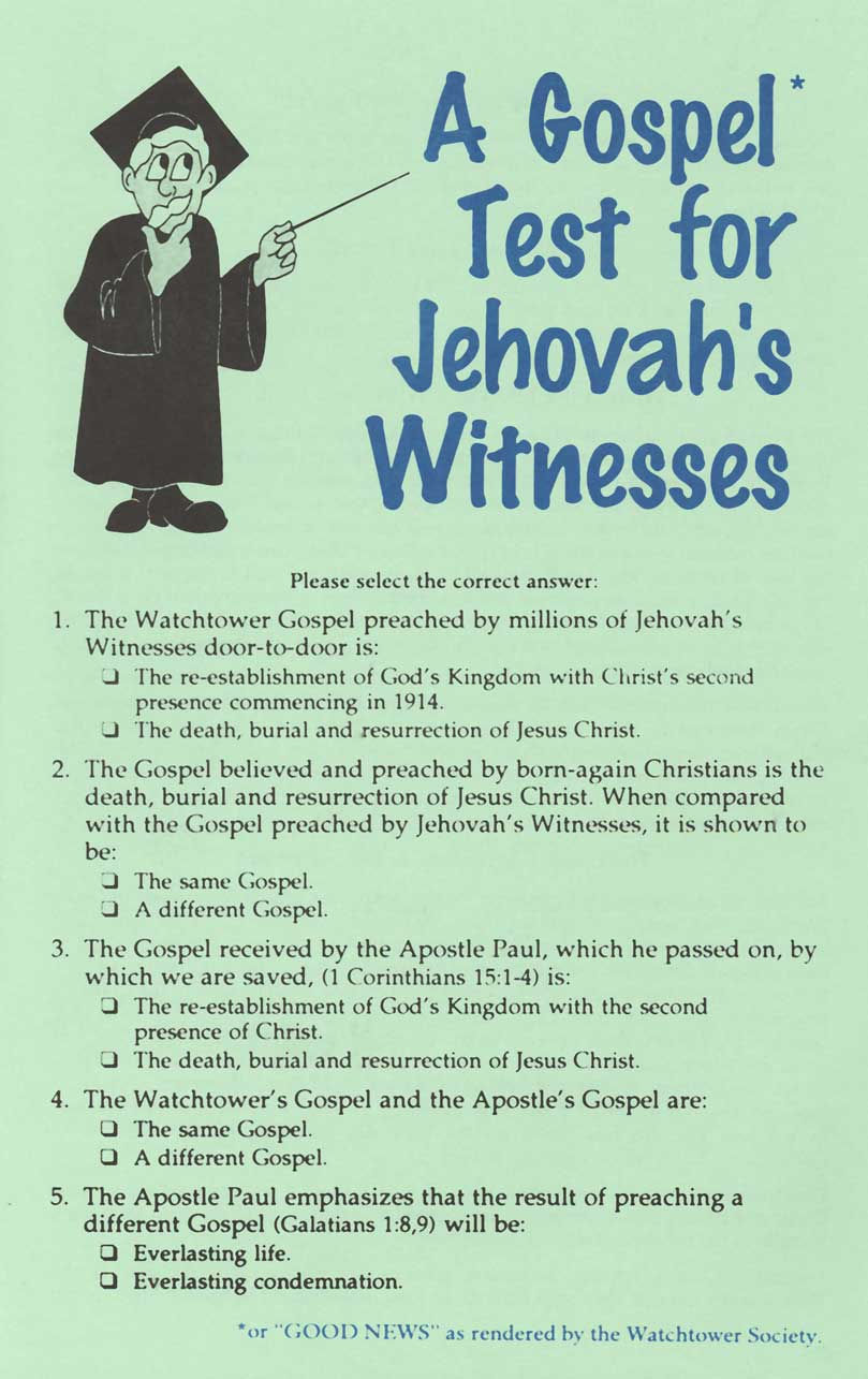 an analysis of the jehova witnesses religion The jehovah's witnesses are the largest among a group of several religious movements that claim the heritage of pastor charles taze russell (1852-1916.