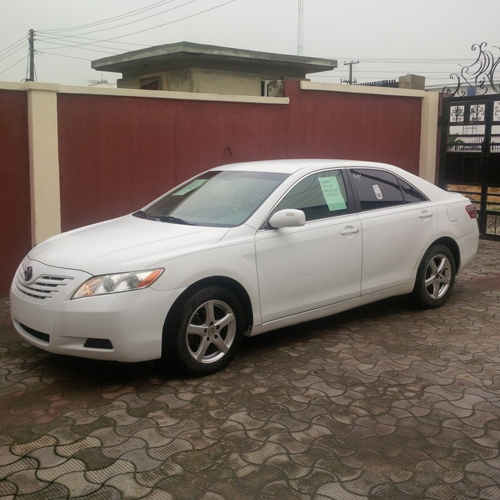 2007 Toyota Camry LE (tokunbo, Clean And Sharp)