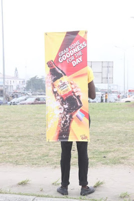 Malta Guinness Stuns Lagos With Amazing New Concept ( Photos)