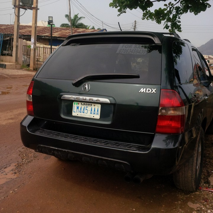 2005 Acura Mdx For Sale: Neatly Used ACURA MDX For Sale Cheaper Rate- Contact