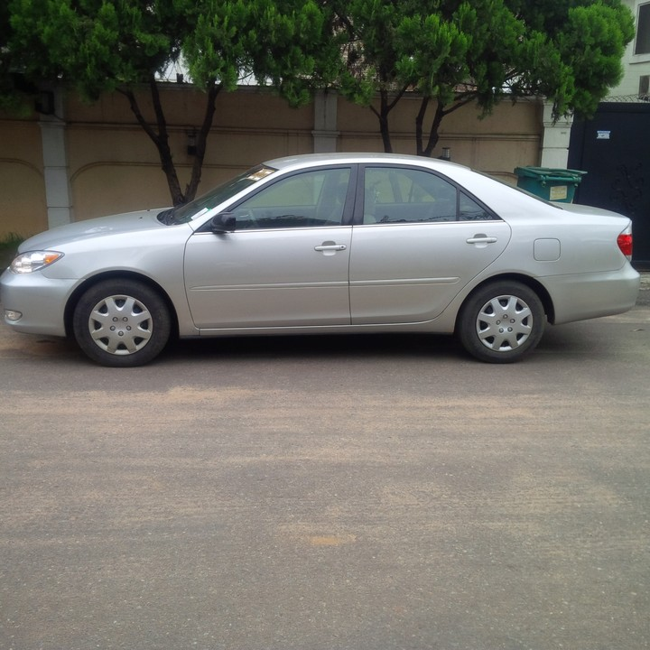 Toyota Camry Colors: S-O-L-D...*** Tin-can Cleared 2005 Toyota Camry LE Silver