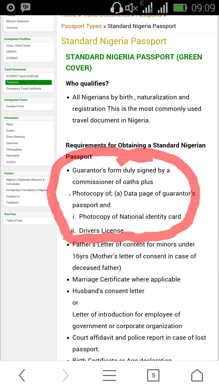 Cost of a nigeria international passport travel 3 nigeria im hoping to get a passport online is it more convenient or not advisable and how long will it take to get it please and also can local government falaconquin