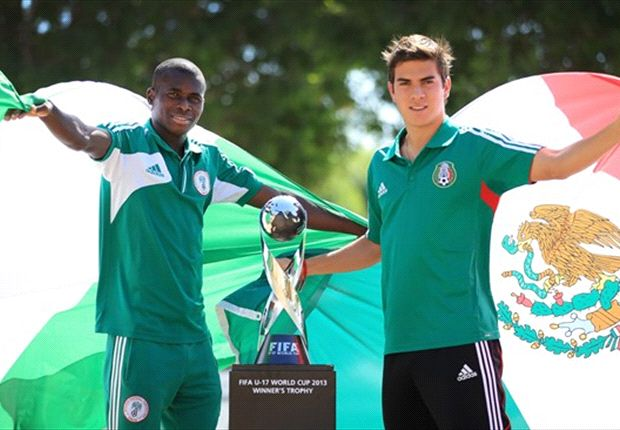 what time is nigeria vs mexico match