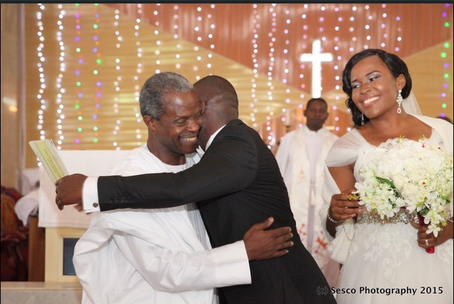 VP Osinbajo spotted in Enugu at son's wedding (photos)