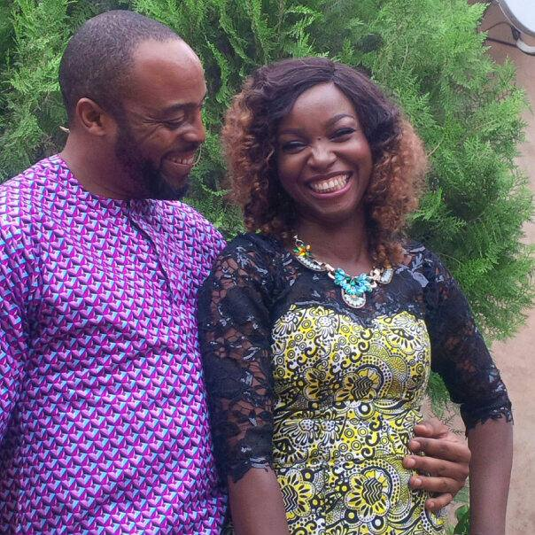 Kalu Ikeagwu (Nollywood Actor)  and Ijeoma Eze ( make up artist)