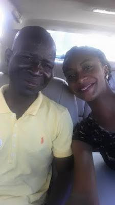 PICS:Lady Who Picked Up A Destitute To Rehabilitate Him In
