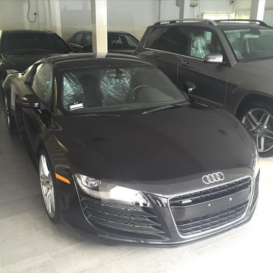 Davido's New Car Audi R8 2015, Cost 22 Million Naira (see