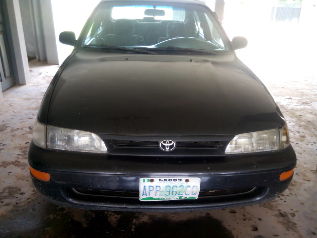 Registered 1997 Toyota Corolla 07011324914 Autos