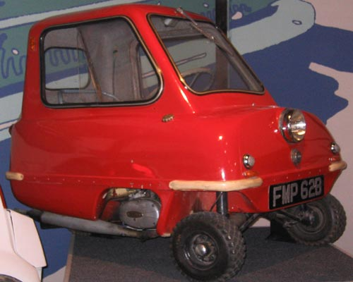 photo meet the slowest car in the world peel p50 autos nigeria. Black Bedroom Furniture Sets. Home Design Ideas