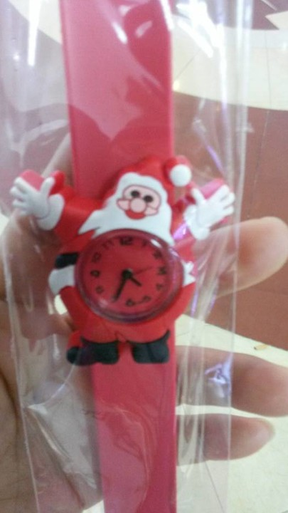367c1254087ef This kids santa watch is very cool for kids during this xmas season