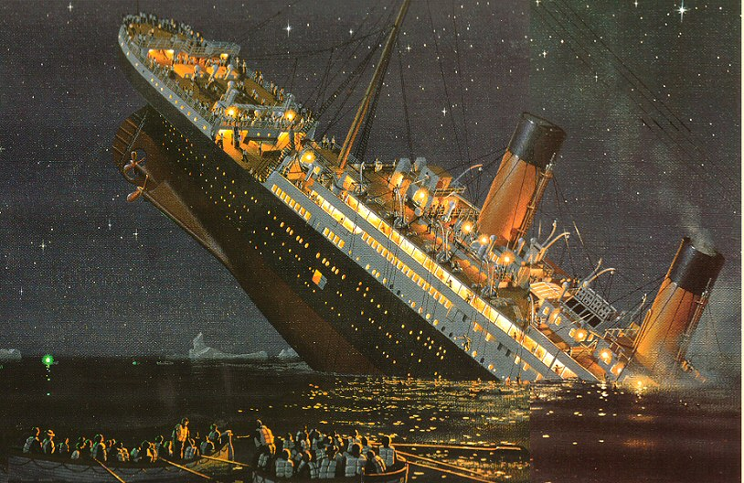 Good news - Titanic unlikely to sink again - pink fish media