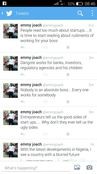 Re: Dangote Is Not A Boss But An Ordinary Worker by orlando5 : 9:17am ...