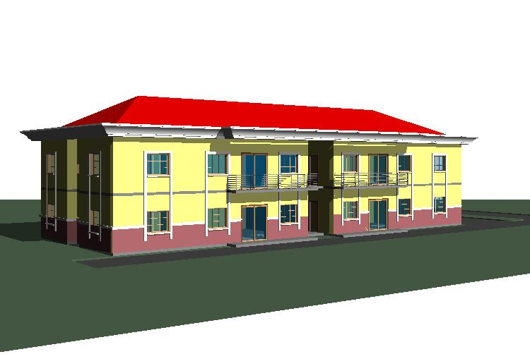 Affordable architectural designs for nairalanders properties nigeria - Architecture plans of bedroom flat ...