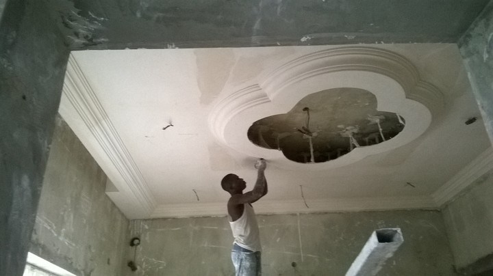 Contact Us For Your Building's P.O. P Ceiling, Screeding ...