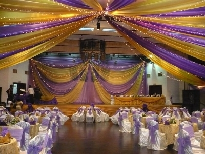 Hall Decoration With 300 Chairs Covered For Just N75 000