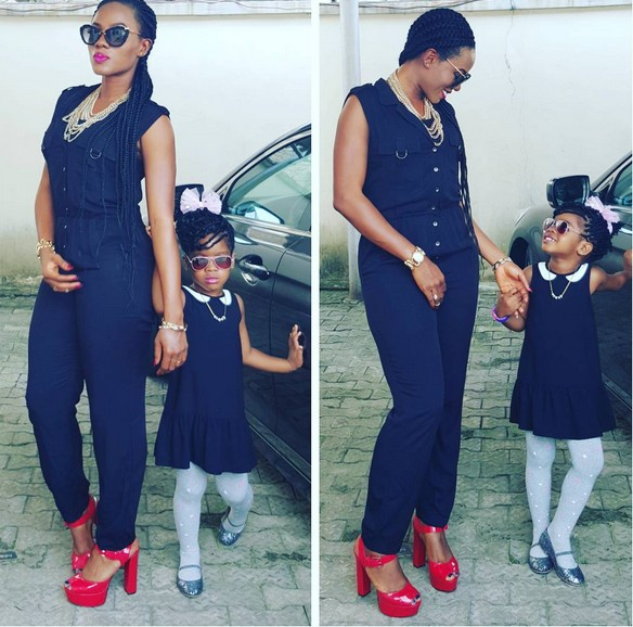 Basketmouth's Wife & Daughter Step Out In Cute Outfits... You Like?