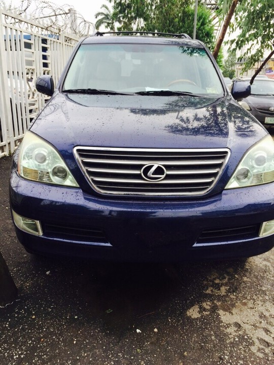 tokunbo 2007 lexus gx470 for sale at the cheapest price autos nigeria. Black Bedroom Furniture Sets. Home Design Ideas