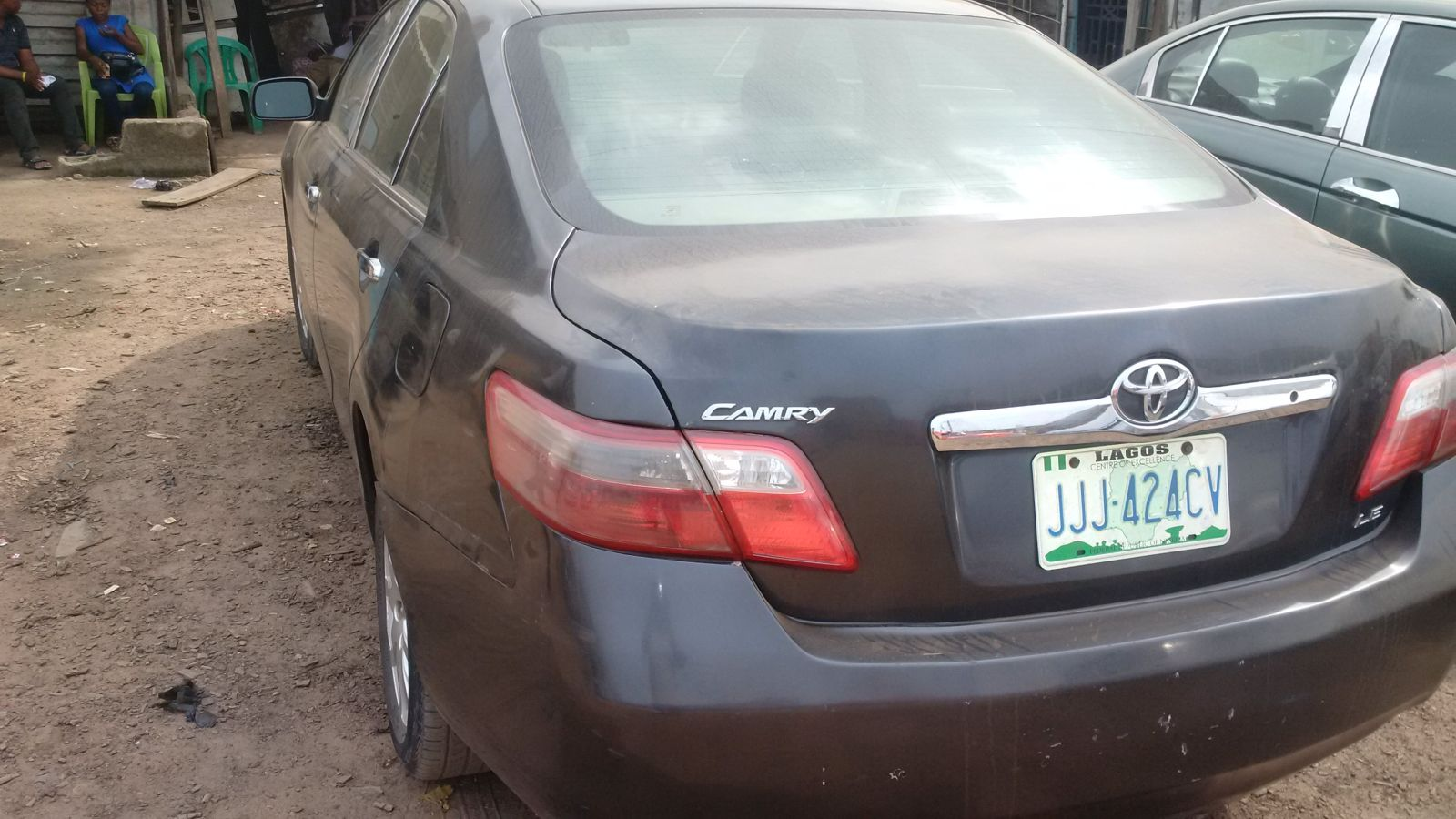registered 2008 toyota camry muscle autos nigeria. Black Bedroom Furniture Sets. Home Design Ideas