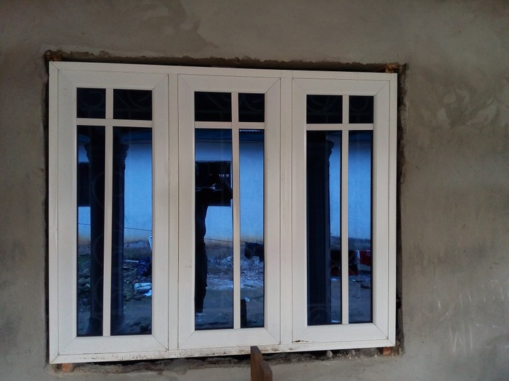 Professional aluminum windows burglary proof works for Door design nigeria