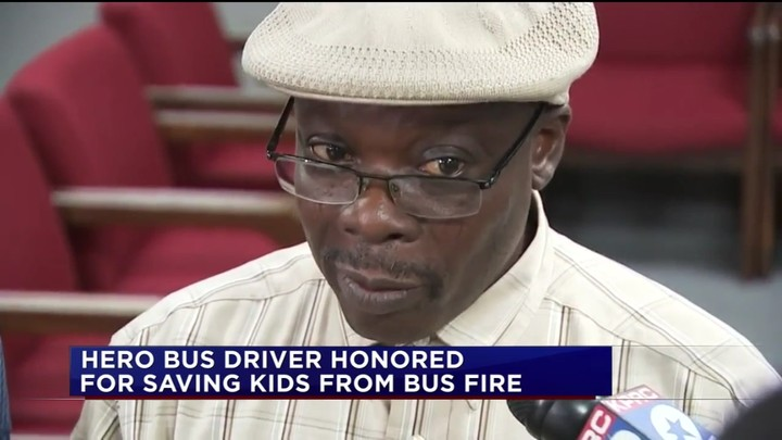 [PHOTO] Nigerian Man, Sammy Agunbiade Honoured In Houston For Saving Lives Of 30 Children
